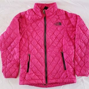 North Face Pink Thermoball Jacket